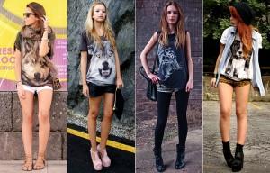 Como Usar: Camisetas com Estampas de Animais
