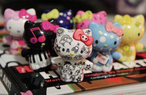 Toy Arts temáticos da Hello Kitty