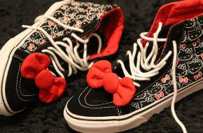 Os novos Vans da Hello Kitty