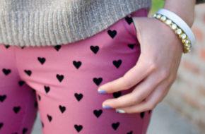 Como Usar: Estampa de Corações