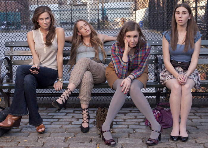"Esquece o glamour de Upper East Side! Girls é ""vida real""..."