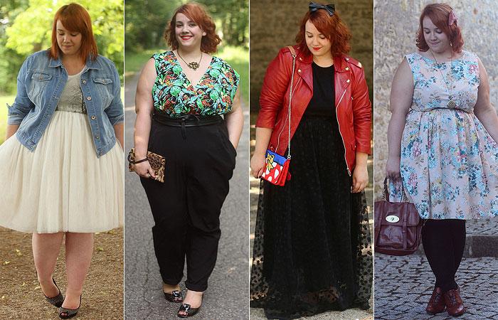 """15 Blogueiras """"plus size"""" estilosas!"""