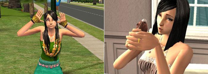 Minha Sim no The Sims 2