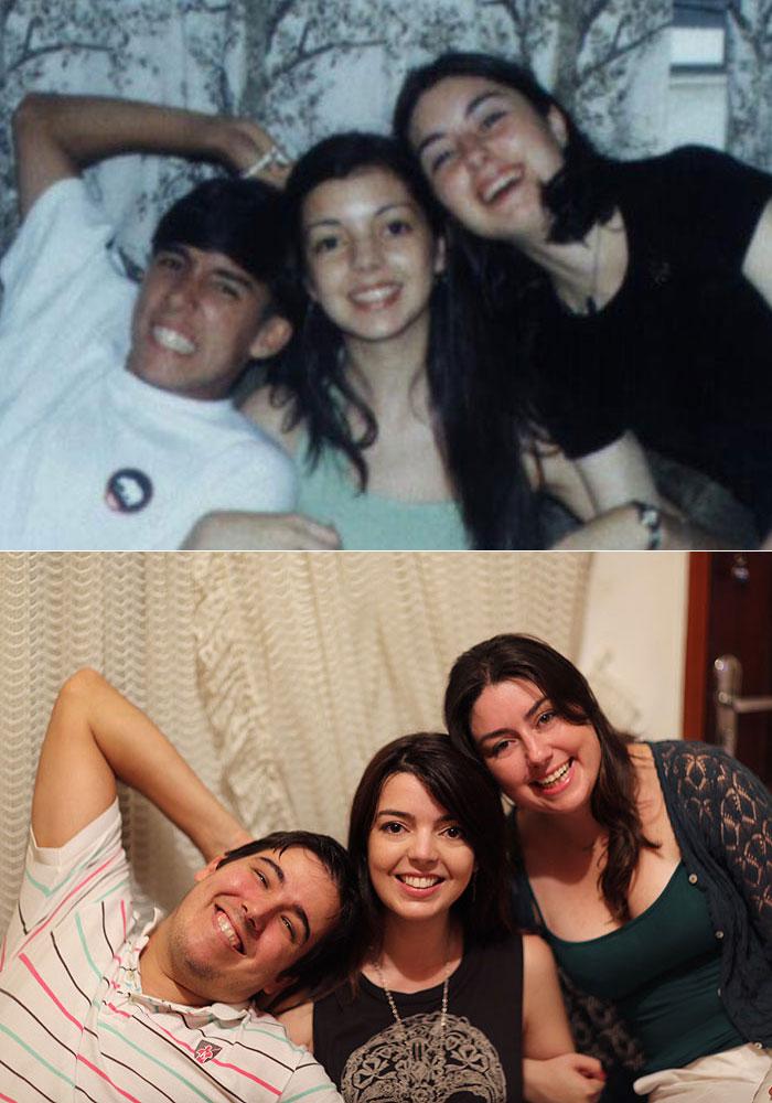 15 anos depois com meus primos!