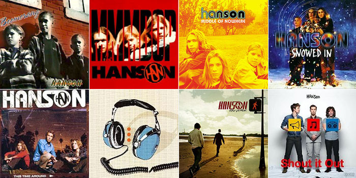 hanson-albuns