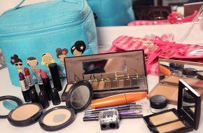 Guia de viagem: Nécessaire e maquiagem