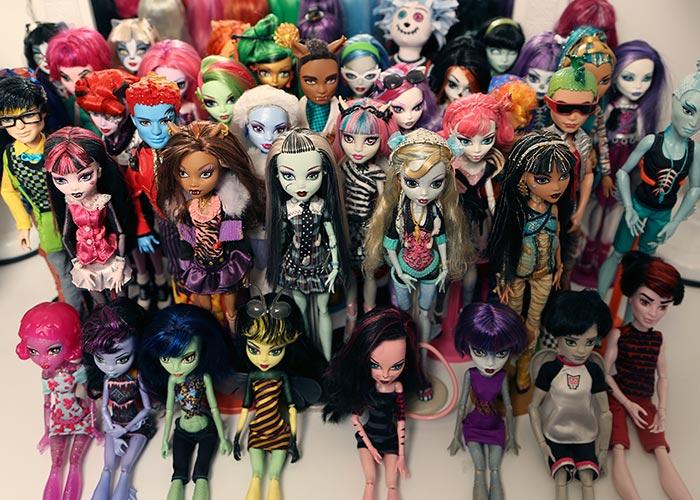 Minha coleção de Monster High!