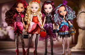 As bonecas de Ever After High