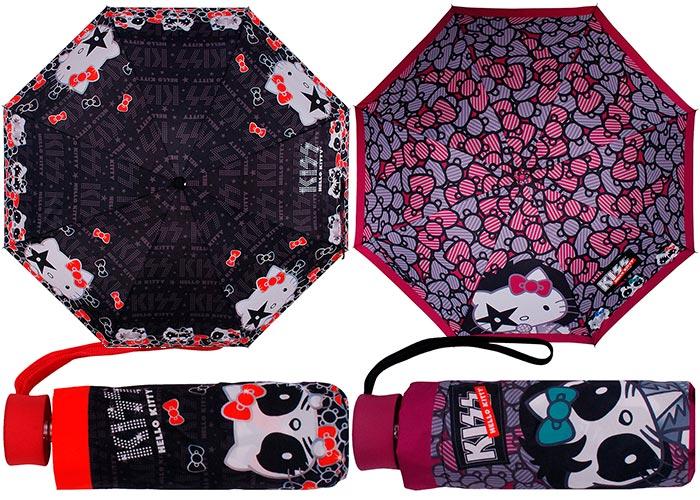 Guarda-chuva do Kiss feitos pela Luxcel