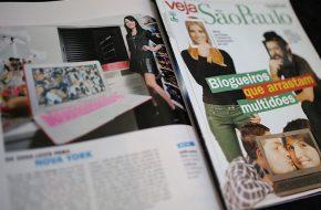 Blogueiros que arrastam multidões na Veja São Paulo
