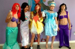 Os príncipes da Disney em uma boyband