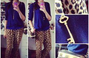 Looks da semana: Onça e azul Bic, Moletom estampado, Jaqueta azul, Camisa xadrez azul