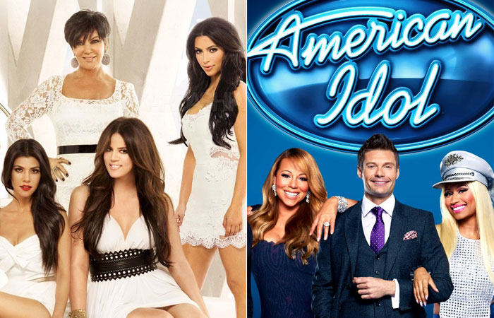 series-reality-show-kepping-up-with-the-kardashians-american-idol