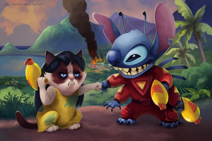 Filmes da Disney estrelando Grumpy Cat