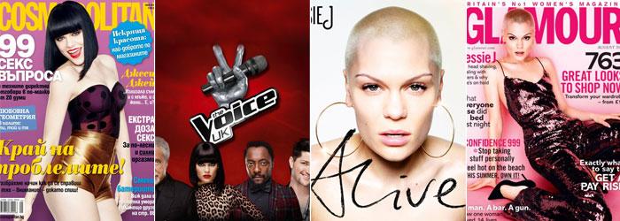 Em capas de revista, do novo cd e no pôster do reality show