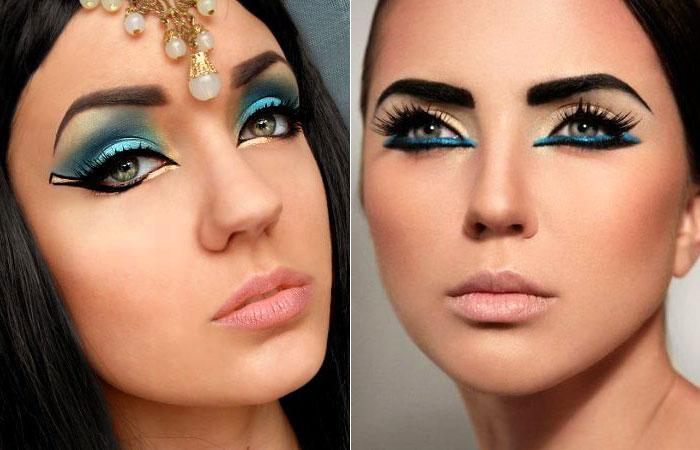 maquiagem-halloween-cleopatra