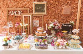 Nham! Os doces e o bolo do casamento