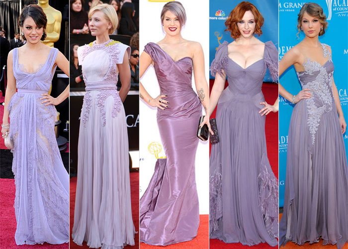 Look de red carpet: Mila Kunis, Cate Blanchet, Kelly Osbourne, Christina Hendricks e Taylor Swift