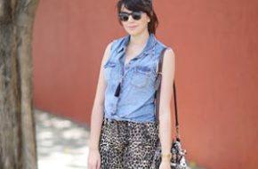 Look do dia: Oncinha e jeans