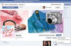 Como ver todas as atualizações do Just Lia no Facebook