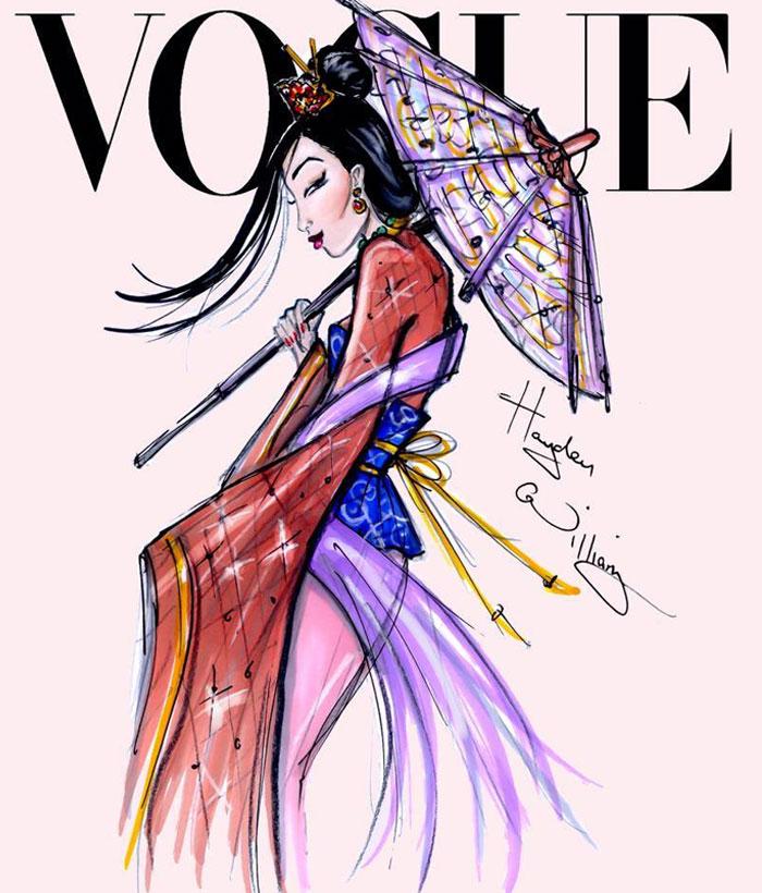 Capas De Vogue Com As Princesas Disney Just Lia Por Camargo