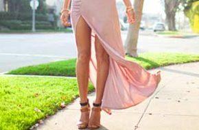 Como Usar: Saia e Vestido com Fenda