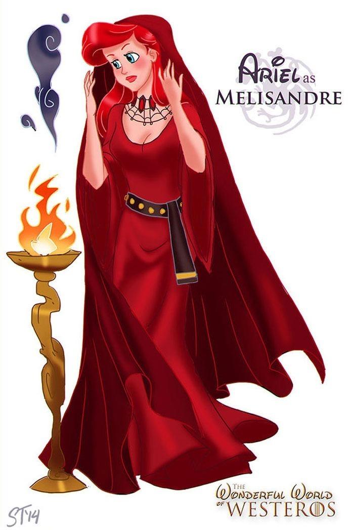 princesas-gameofthrones-ariell