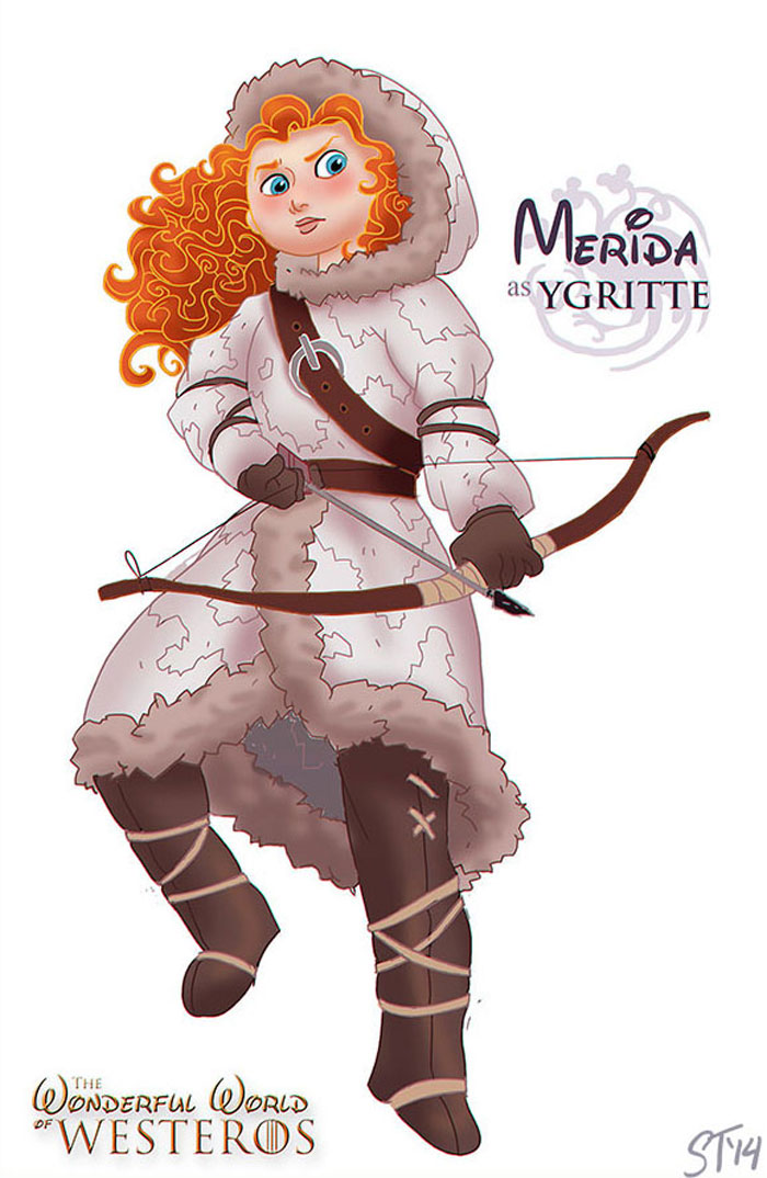 princesas-gameofthrones-merida