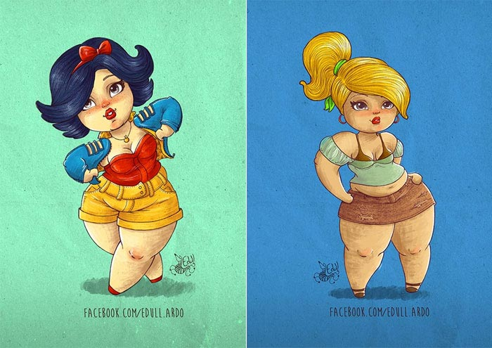 princesas-plus-size