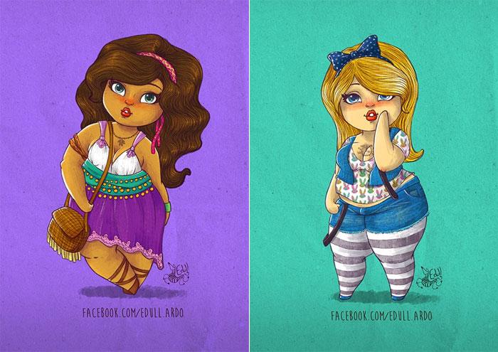 princesasdisneyplussize-esmeraldaealice