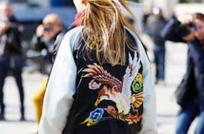 Como Usar: Jaqueta bomber estampada