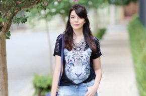 Look do dia: Colar com camadas
