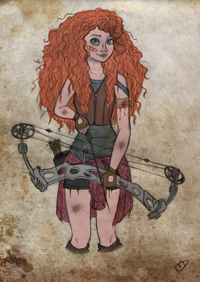 disney-thewalkingdead-merida