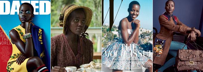 Em revistas, na campanha da Miu Miu e em filme