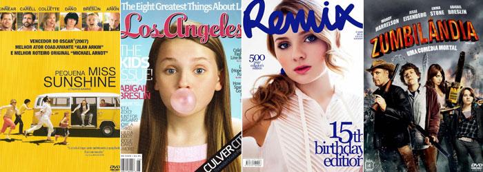 Capas de filmes e de revistas