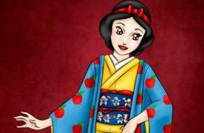 Princesas Disney de Quimono