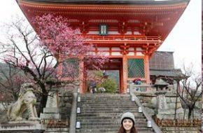 Quioto – Templos Kiyomizu-dera e Heian-Jingu, Castelo Nijo-jo