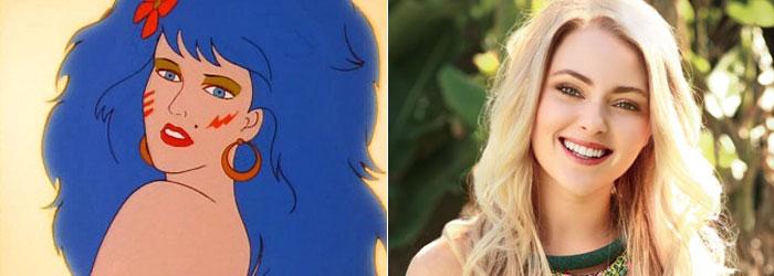 "AnnaSophia Robb como Mary ""Stormer"" Phillips"