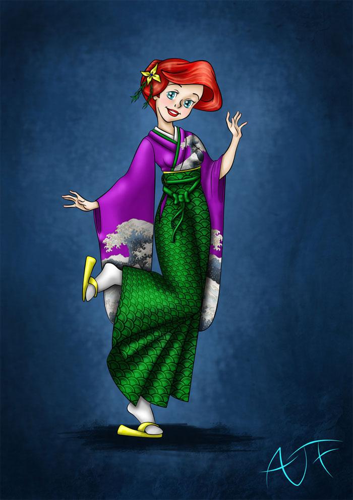 kimonodisney-ariel