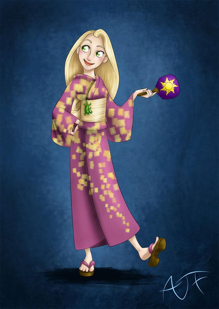 kimonodisney-rapunzel