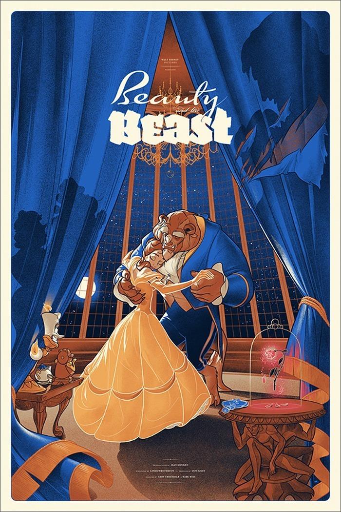 Pôsteres da Disney reinventados