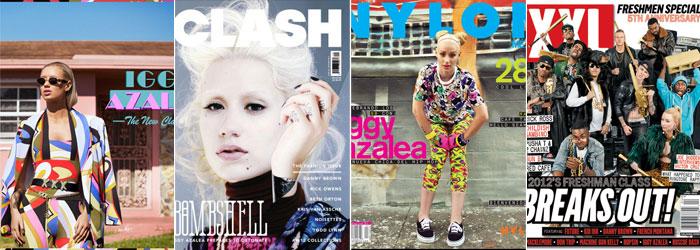 Seu álbum e algumas capas de revista
