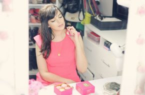 La Tentation de Nina, Look do dia: Pink e dourado