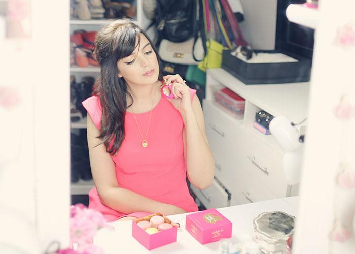 La Tentation de Nina, Look do dia: Pink e dourado - Just Lia | Por Lia Camargo