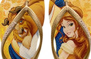 Havaianas das princesas Disney