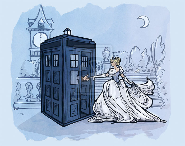 princesas-disney-doctor-who-2