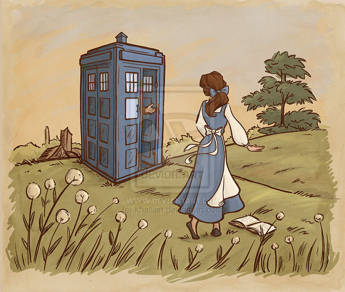 princesas-disney-doctor-who-4