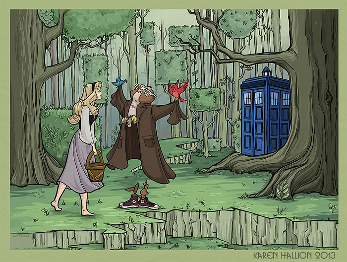 princesas-disney-doctor-who-6