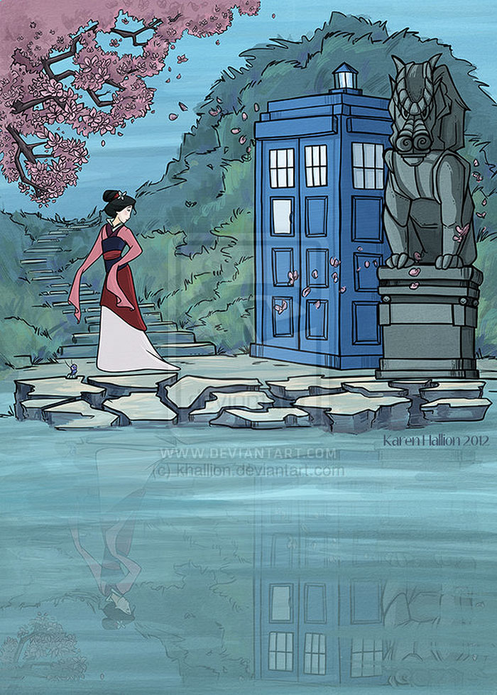 princesas-disney-doctor-who-7