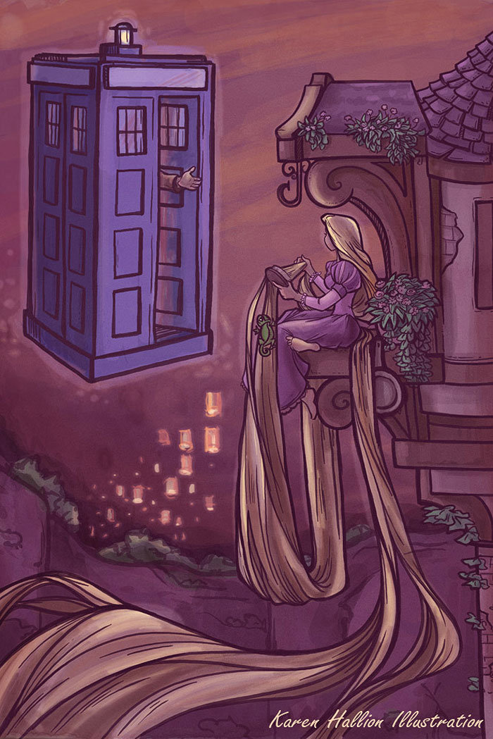 princesas-disney-doctor-who-8